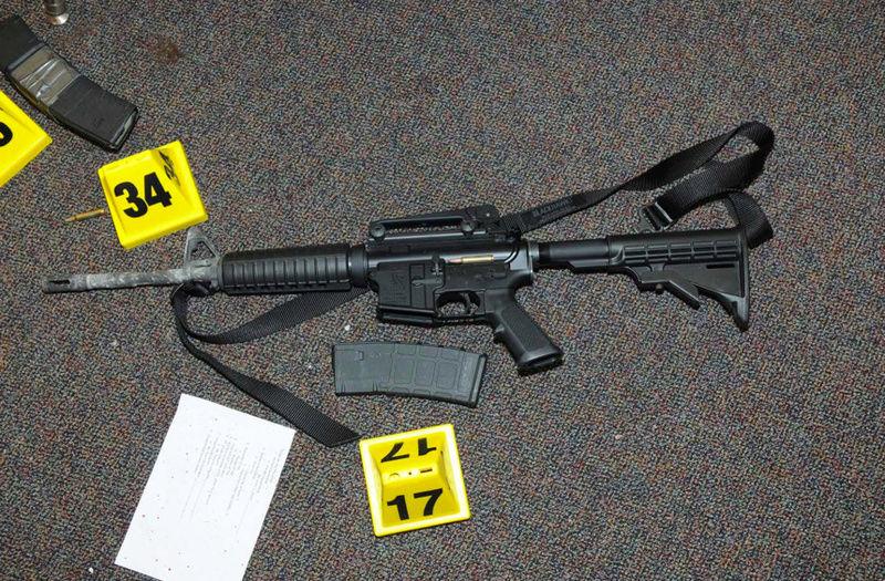 Photo's of mass murderer's weapons Bushma10