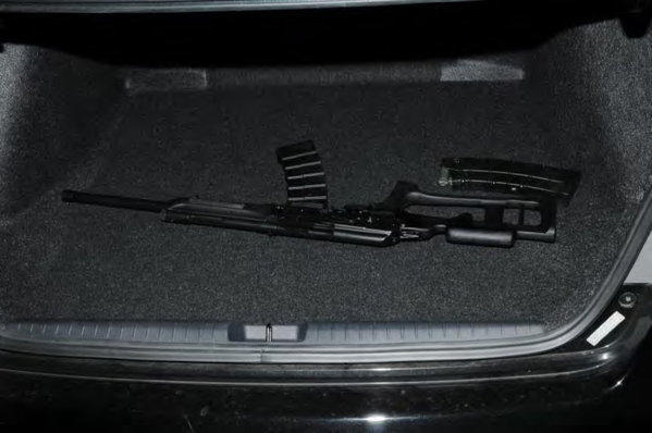 Photo's of mass murderer's weapons Izhmas10
