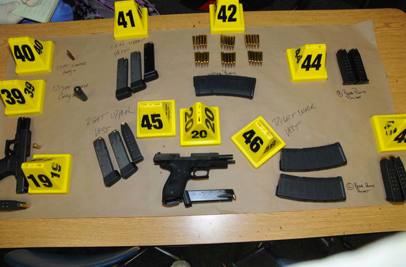 Photo's of mass murderer's weapons Weapon10