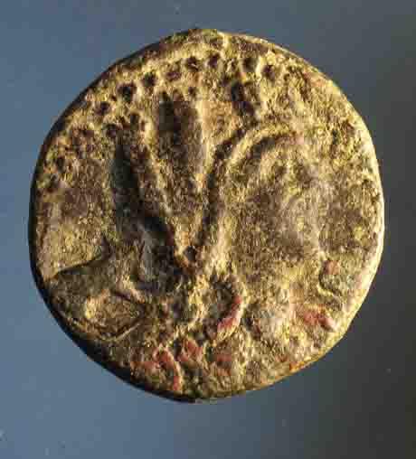 Bronze pour la cité de Segeste en Sicile ... Nc_70010