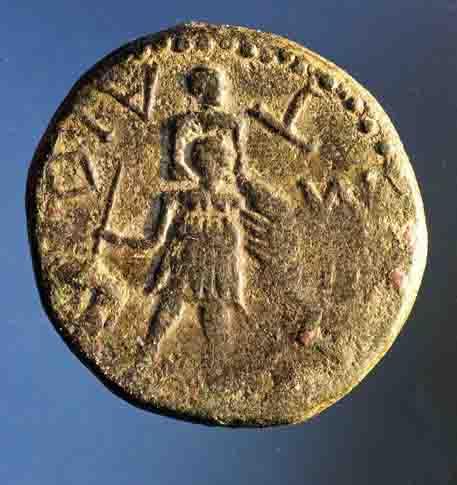 Bronze pour la cité de Segeste en Sicile ... Nc_70011