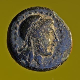 Petit bronze d'Ionie de la cité de Colophon ... Nc_72111