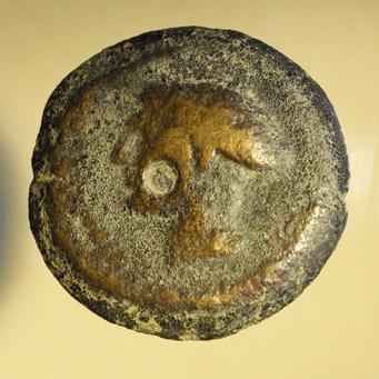 Monnaie grecque avec une lyre Nc_75612