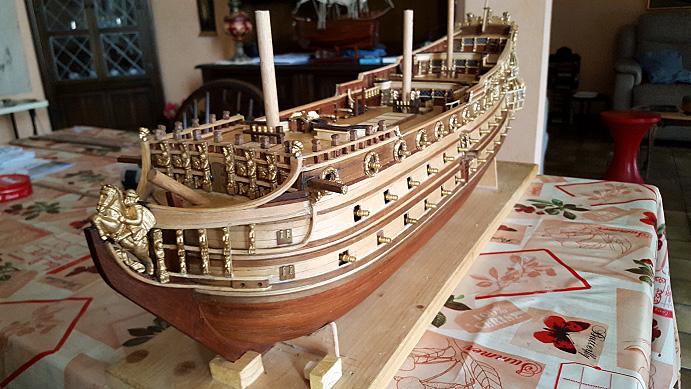 Le HMS Prince 1670 de Constructo au 1/61e de Captain Chris - Page 5 Batter12