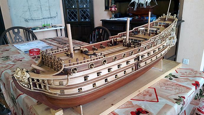 Le HMS Prince 1670 de Constructo au 1/61e de Captain Chris - Page 5 Batter14