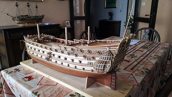 Le HMS Prince 1670 de Constructo au 1/61e de Captain Chris - Page 5 Batter15