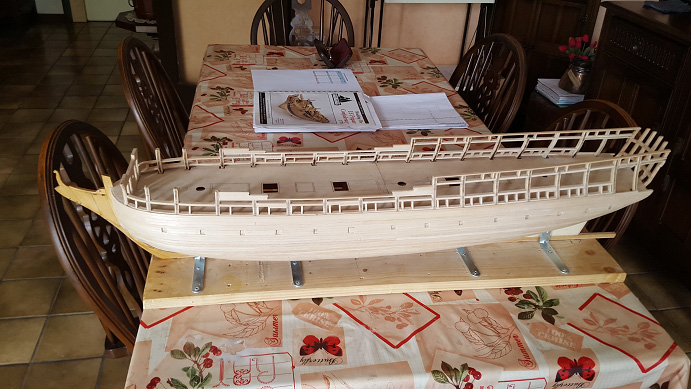 La Confederacy de 1772 au 1/64 par Model Shipways - Page 4 Bybord14