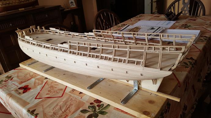 La Confederacy de 1772 au 1/64 par Model Shipways - Page 4 Bybord15