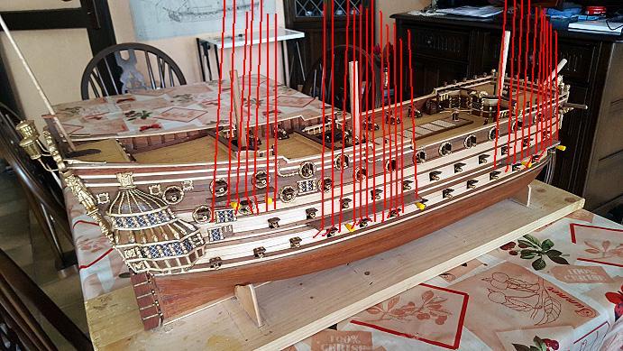 Le HMS Prince 1670 de Constructo au 1/61e de Captain Chris - Page 6 Cadyne10