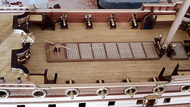 Le HMS Prince 1670 de Constructo au 1/61e de Captain Chris - Page 4 Canons13