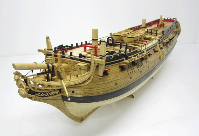La Confederacy de 1772 au 1/64 par Model Shipways Confed13