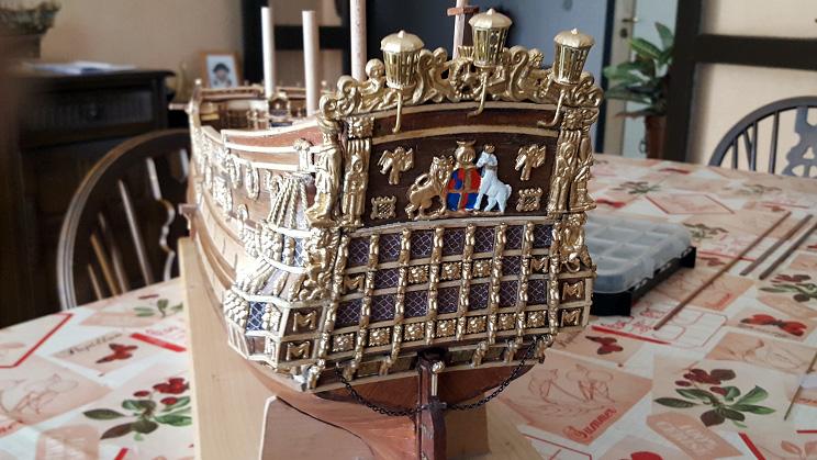 Le HMS Prince 1670 de Constructo au 1/61e de Captain Chris - Page 4 Lanter11