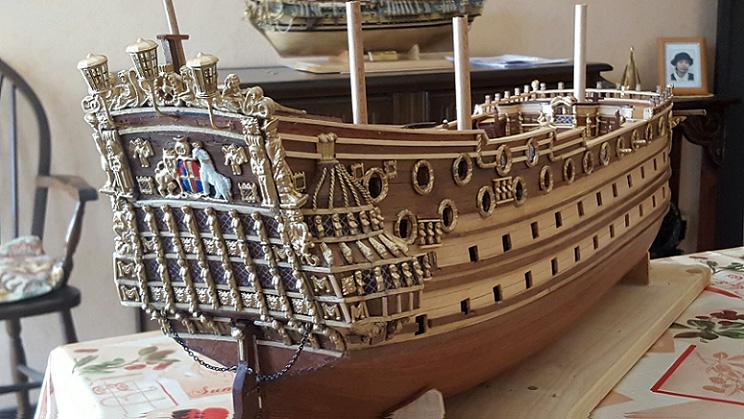 Le HMS Prince 1670 de Constructo au 1/61e de Captain Chris - Page 4 Nov_1413
