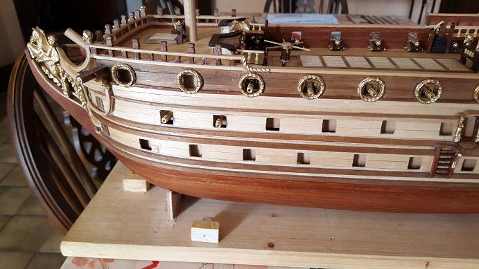 Le HMS Prince 1670 de Constructo au 1/61e de Captain Chris - Page 5 Piquag10