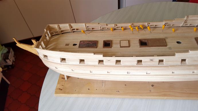 La Confederacy de 1772 au 1/64 par Model Shipways - Page 6 Pont_511
