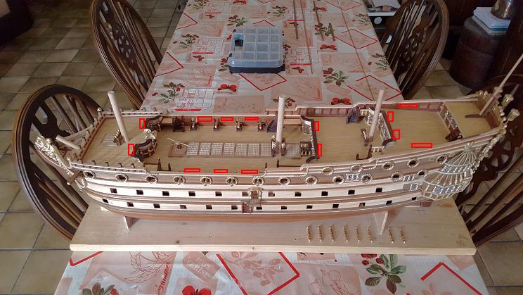 Le HMS Prince 1670 de Constructo au 1/61e de Captain Chris - Page 4 Ponts_11