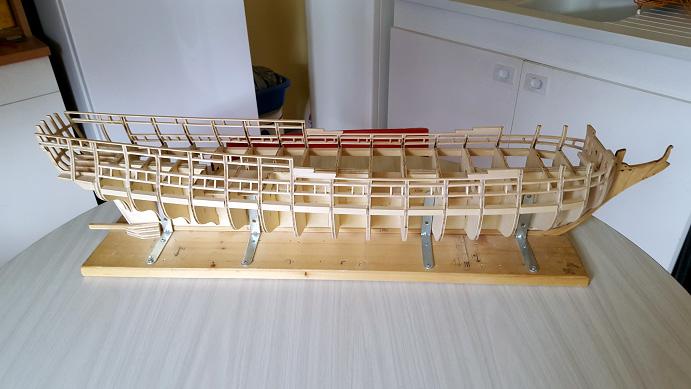La Confederacy de 1772 au 1/64 par Model Shipways - Page 2 Sweep_11