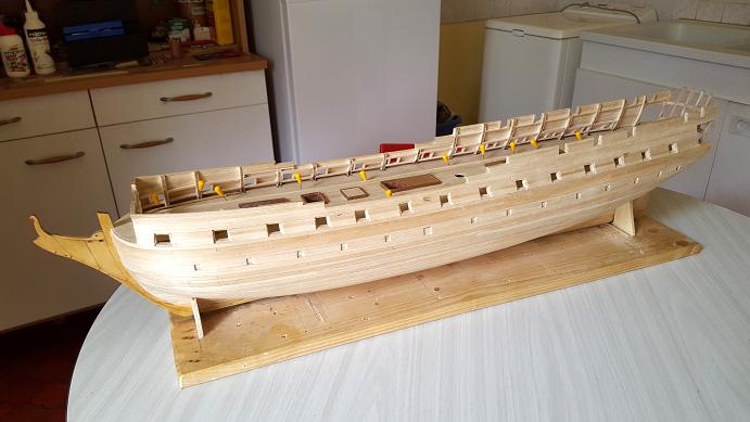 La Confederacy de 1772 au 1/64 par Model Shipways - Page 5 Tontur10