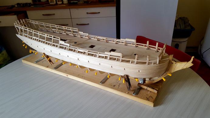 La Confederacy de 1772 au 1/64 par Model Shipways - Page 3 Tribor13