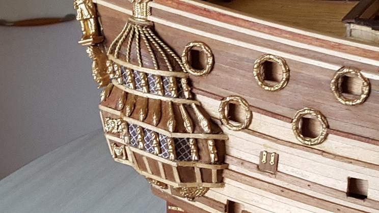 Le HMS Prince 1670 de Constructo au 1/61e de Captain Chris - Page 3 Visite44
