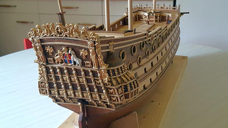 Le HMS Prince 1670 de Constructo au 1/61e de Captain Chris - Page 3 Visite46