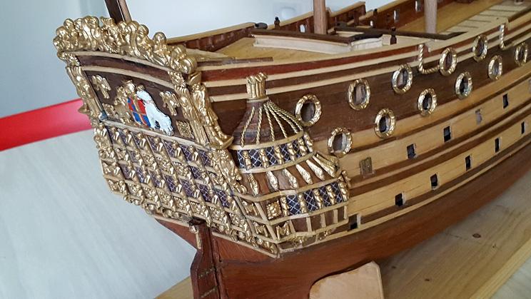 Le HMS Prince 1670 de Constructo au 1/61e de Captain Chris - Page 3 Visite47