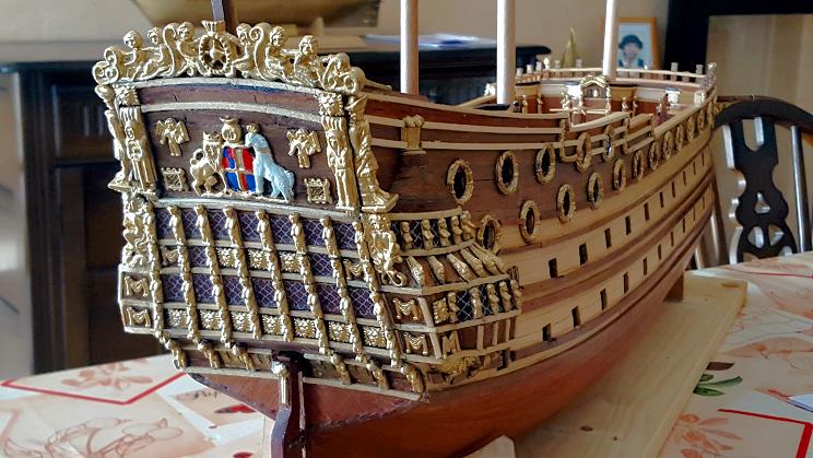 Le HMS Prince 1670 de Constructo au 1/61e de Captain Chris - Page 3 Visite48