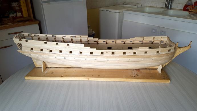 La Confederacy de 1772 au 1/64 par Model Shipways - Page 5 Vue_110