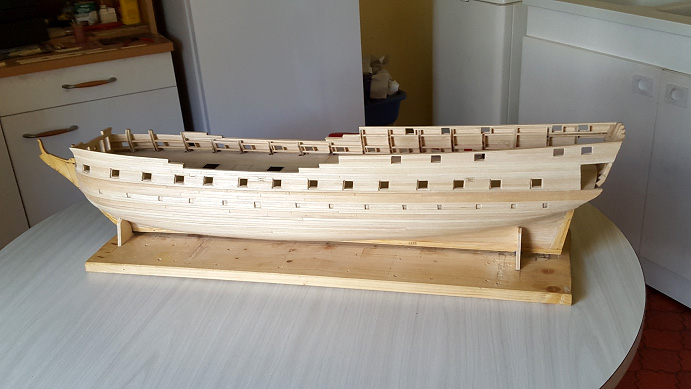 La Confederacy de 1772 au 1/64 par Model Shipways - Page 5 Vue_510