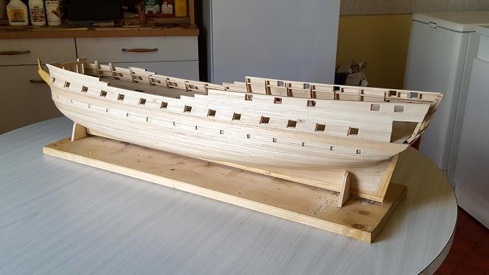 La Confederacy de 1772 au 1/64 par Model Shipways - Page 5 Vue_610