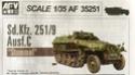 "Sd.Kfz.251/9 ausf C  ""Stummel"" 1/35 AFV Club 02_210"