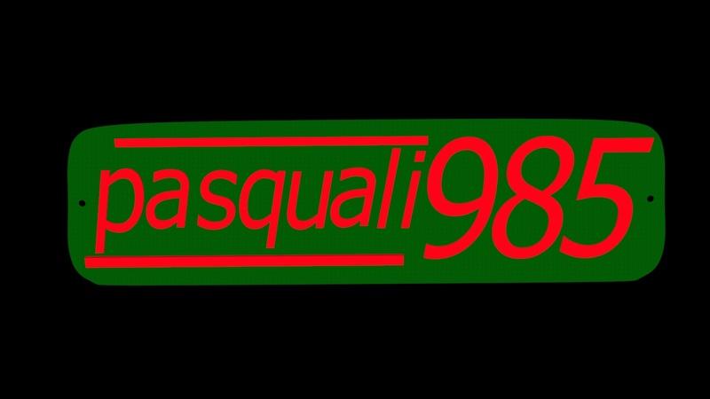 [Pasquali] Quitar pintura chapa logotipo aluminio Pasqua10