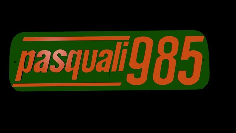 [Pasquali] Quitar pintura chapa logotipo aluminio Pasqua11