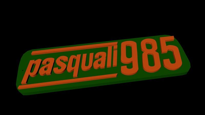 [Pasquali] Quitar pintura chapa logotipo aluminio Pasqua12