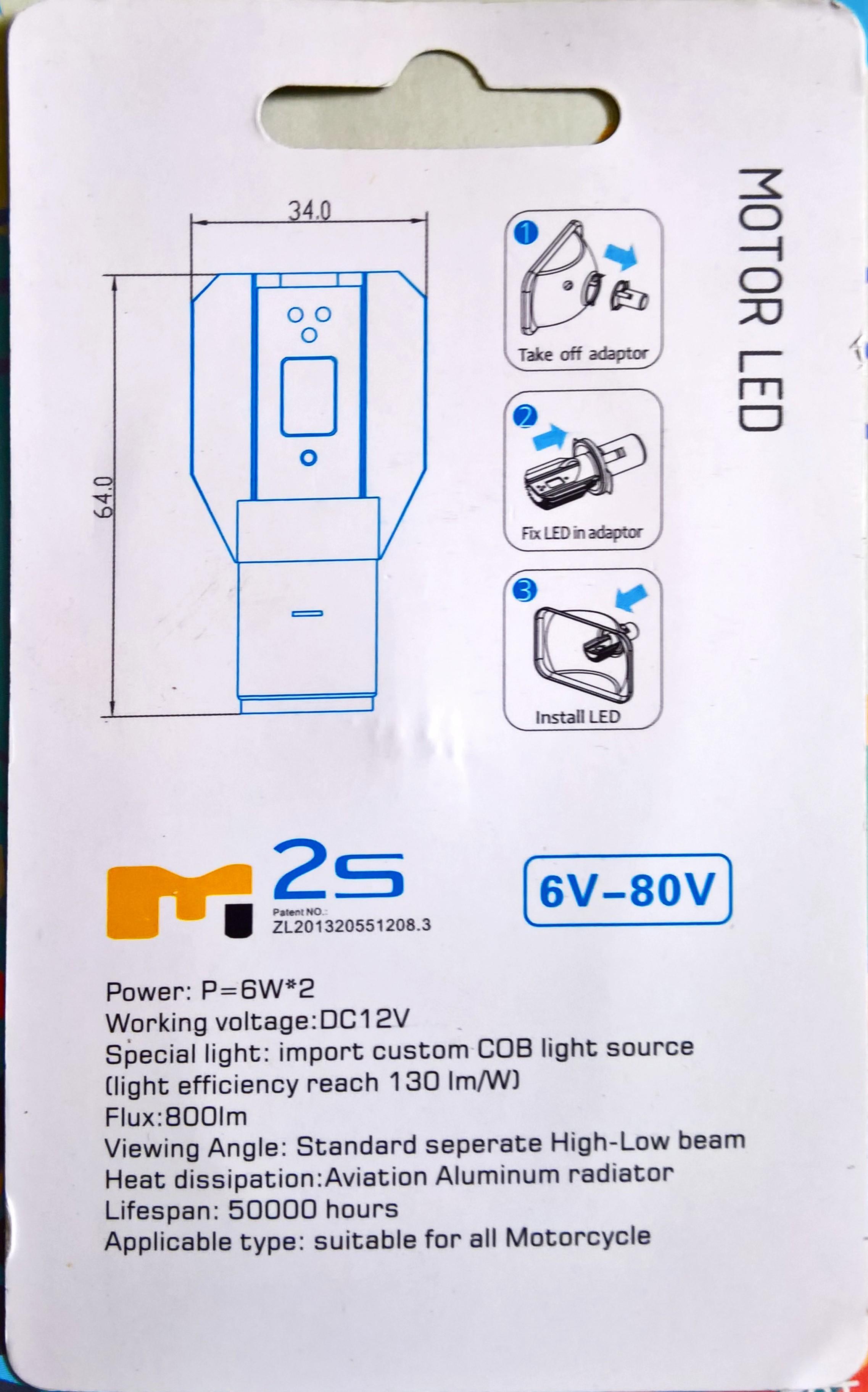 Remplacement des ampoules par LED (Varadero 125 - 2008) Office10