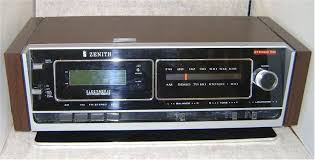 1979 Zenith AM/FM Stereo Clock Radio with PowerReserve®  Zenith10