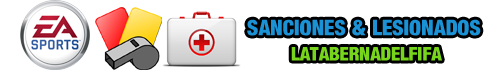 Sanciones y Lesiones