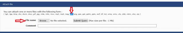 How do i attach PDF files here? Click210
