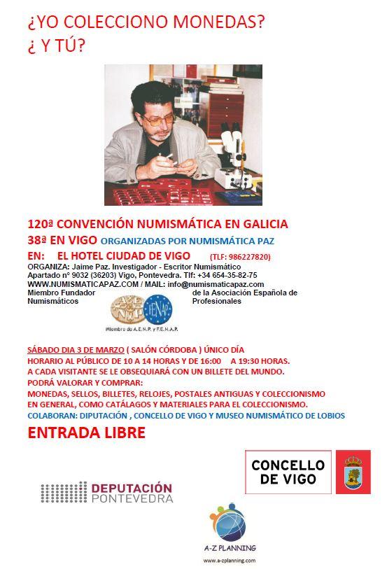 Convención Numismática en Vigo Conven12
