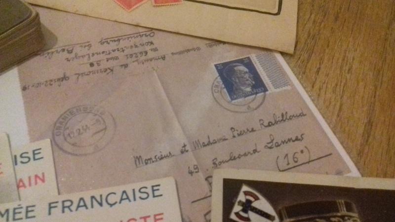 Occupation+lettre Oranienburg 20180417