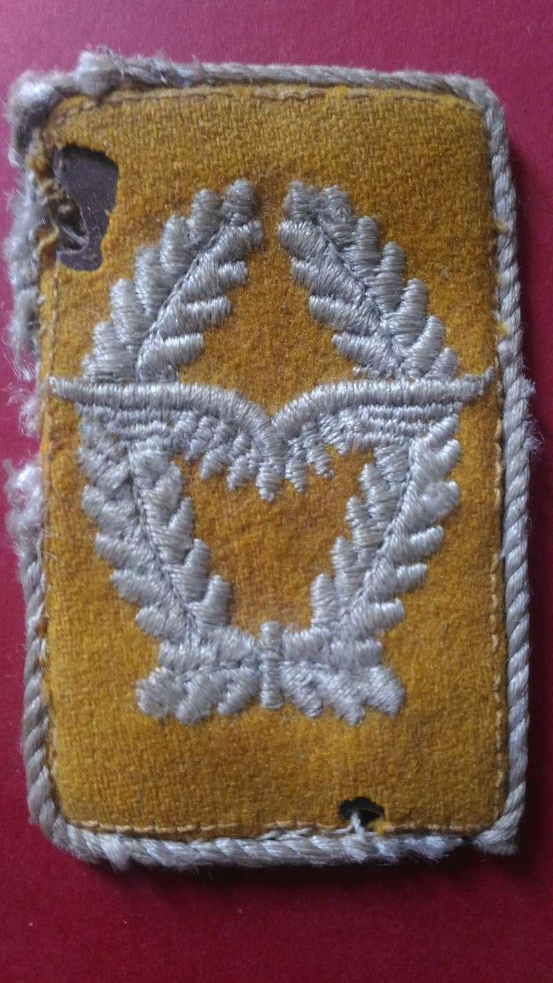 Pattes de col Major Luftwaffe et ? 00410