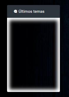 FFF - Editar la apariencia del widget Últimos Temas en la versión ModernBB Ultimo10