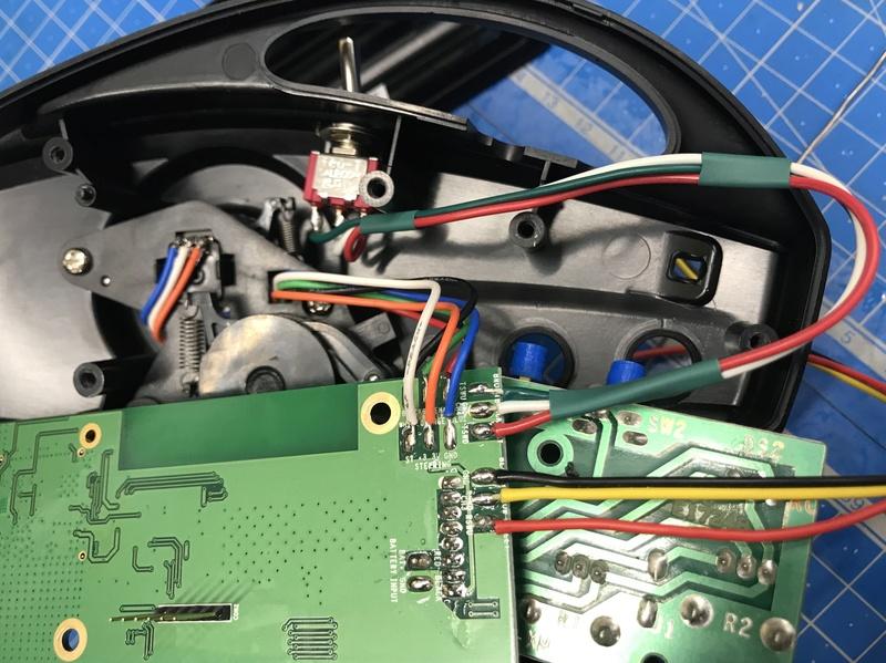 Modifications radio #6528 2ch en 4ch + voltemetre 13eab210