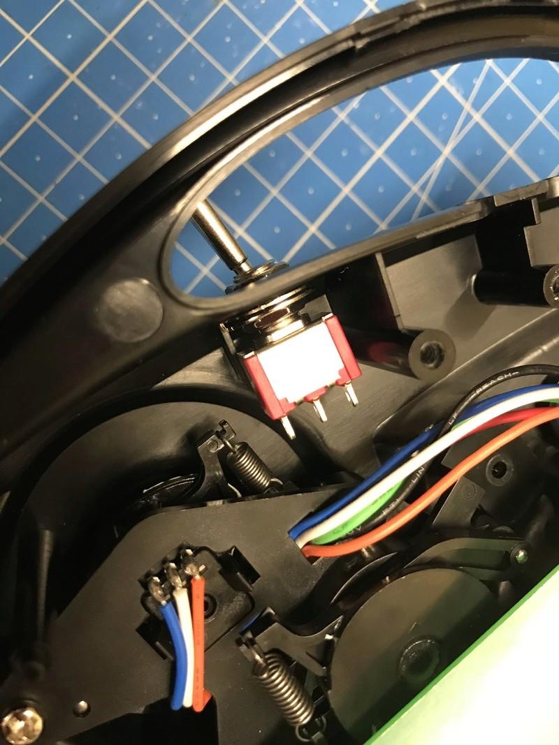 Modifications radio #6528 2ch en 4ch + voltemetre 3a155810