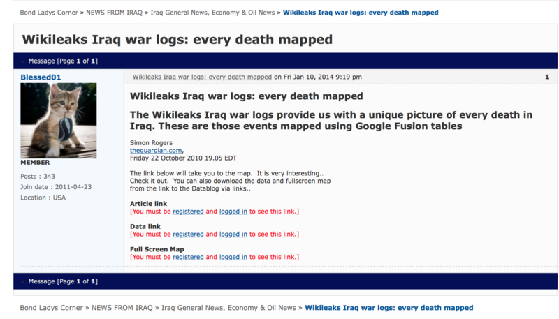 The casualties of the Iraq war, mapped Screen11