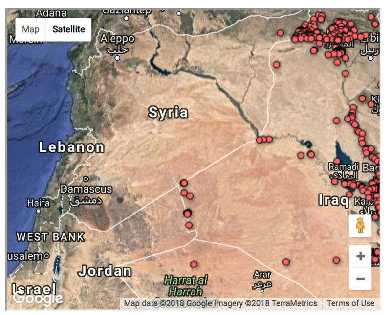 The casualties of the Iraq war, mapped Screen16
