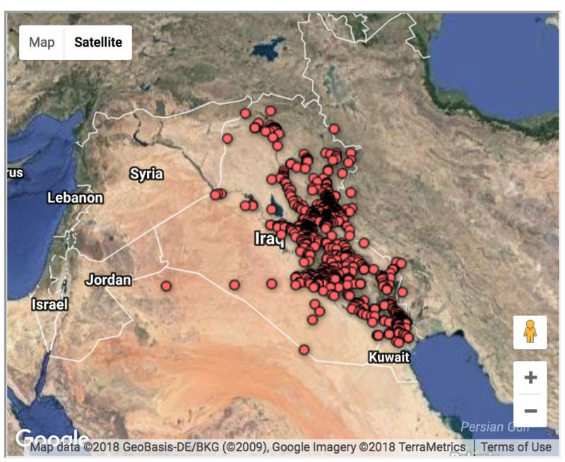 The casualties of the Iraq war, mapped Screen19