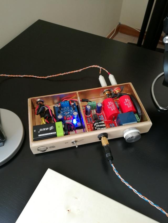Amplificador de headphones - alimentação - dúvidas Img_2010