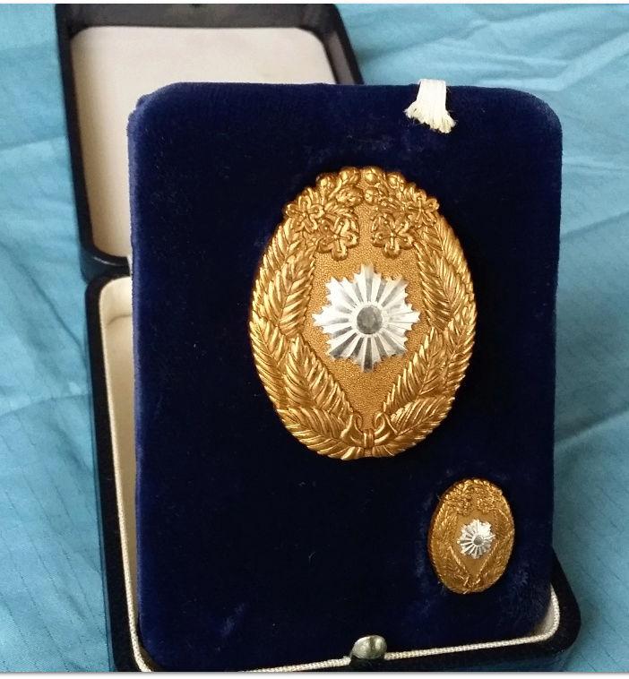 Le badge de mérite de la police politique (Kempeitai : 憲兵隊) pour services exempl 20180110