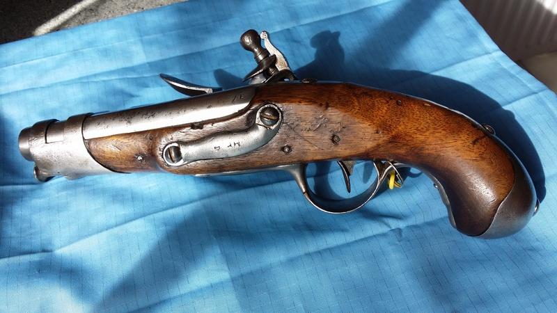 Mle 1770 Pistolet de la Maréchaussée 20180511